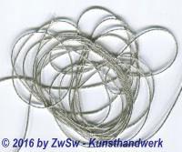 cordiertes Gespinnst silber 5m