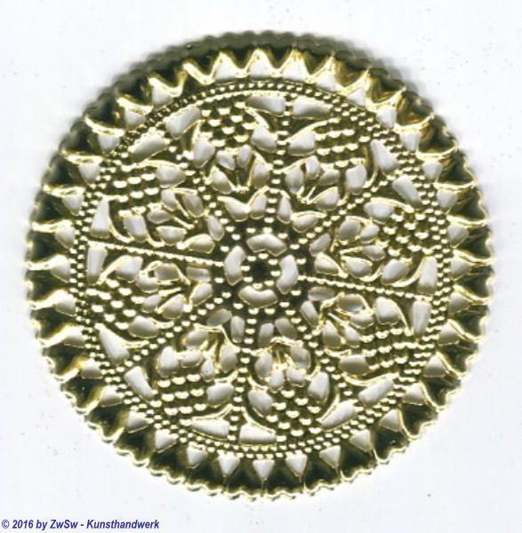 Metallscheibe  5 Stück, 57mm
