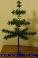 Federbaum grün 45cm ohne Ständer
