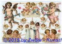 Engel und Putten ohne Glimmer