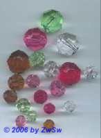 Acrylglasperle kristall, 12 mm, 1 Stück