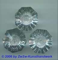 Perle Acryl, kristall, 32mm x 22mm, 1 Stück