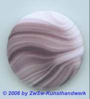 Glasplatte (amethyst/weiß)  Ø 50mm