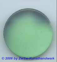 Glasplatte Grün/schwarz Ø 50mm
