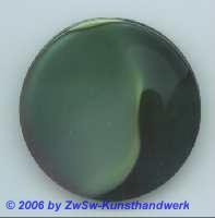 Glasplatte schwarz/grün  Ø 50mm