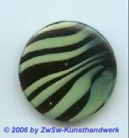 Glasplatte schwarz/grün  Ø 35mm