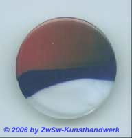Glasplatte (bordeaux/blau/weiß) Ø 35mm