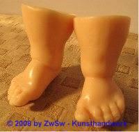 Ersatzteil Füße, Größe 9 haut