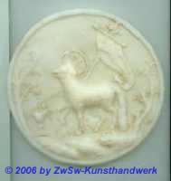 Medaillon: Agnus Dei,  Ø 10,5cm