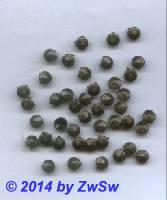 Zierniete Linse facettiert 6,5mm, 1 Stück