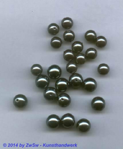 Wachsperlen Tahiti black pearl 8mm