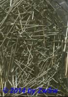 Kettelstifte, in silber 25 Stück, 32 mm