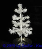 Federbaum weiß 34cm ohne Ständer