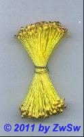 Blütenstempel in gelb/braun, Ø 1mm