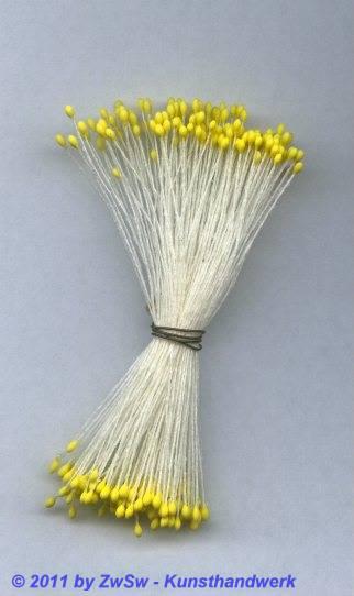 Blütenstempel in gelb, Ø 1mm