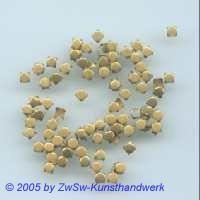 Zierniete, altgold 3mm, 1 Stück
