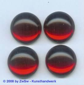 Strassstein, Ø 14mm, 1 Stück (rot)