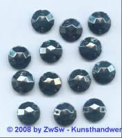 Strassstein, Ø 11mm, 1 Stück (hematite)