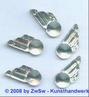 Strassstein, 1 Stück, 25mm x 11mm, (kristall)