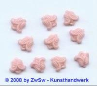 Strassstein, 1 Stück, 9mm x 9mm, (zartrosa)
