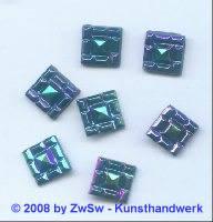 Strass/quadratisch 12mm x 12mm (scarabeus) 1 Stück