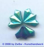 Strassstein 17mm x 13mm, (scarabeus) 1 Stück