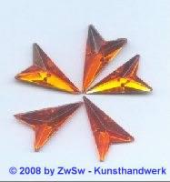 Strassstein, 12mm x 20mm, (orange), 1 Stück