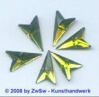 Strassstein, 12mm x 20mm, (lichtgelb), 1 Stück