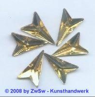 Strassstein, 12mm x 20mm, (gold Beryl), 1 Stück