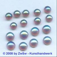 Strassstein, Ø 7mm, (amethyst/AB), 1 Stück