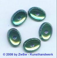 Strassstein, 18mm x 13mm, (scarabeus), 1 Stück