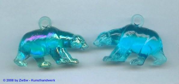 Eisbär 1 Stück, aquamarine/AB