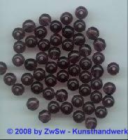 Perle, Ø 8mm, 1 Stück amethyst