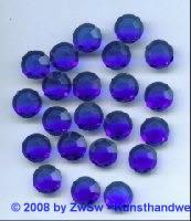 Strassstein, 1 Stück, (blau), Ø 11mm
