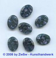 Strassstein, 1 Stück, (nachtblau), 18mm x 13mm
