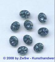 Strassstein, 1 Stück, (nachtblau), 10mm x 8mm