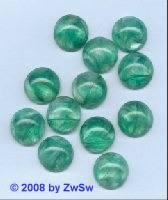 Muggelstein, Ø 18mm grün/marmoriert, 1 Stück