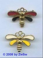 Bienchen mit rotbraun, 1 Stück