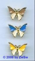 Schmetterling mit hellbraun, 1 Stück