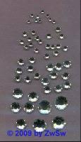 Swarovski/HOT FIX, 1.90-2.00mm, SS6, kristall, 1 Stück