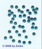 Swarovski/HOT FIX, 3.00-3.20mm, SS12, blue zircon, 1 St�ck