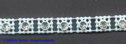 Strassband, 50 Zentimeter, 9mm breit