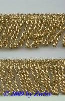 Lurex-Kordelfranse gold,  1 Meter