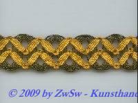 50 cm alte Brokatborte, breit 2,5 cm