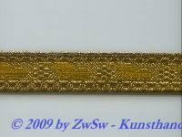 50 cm alte Brokatborte, breit 2,1 cm