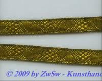 50 cm alte Brokatborte, breit 1,5 cm