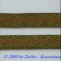 50 cm alte Goldborte, breit 2,2 cm
