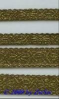 Borte in altgold 15 mm breit, 1 Meter