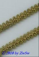 Borte 11mm in altgold