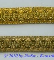 Goldborte 21mm altgold Rest 2,5m